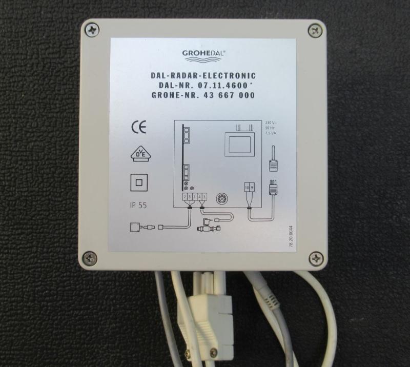 Grohe DAL 07.11.4600 / 43667000 / 43667 Radar Steuergerät Electronic