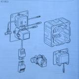 Grohe Austausch-Elektronik  Radar 43863 für Urinal-Unterputz Spülanlagen