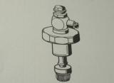 26002430 Franke Aquarotter Oberteil DN20 für WC-Druckspüler mit Fernbetätigung