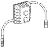 2000105832 / 8510020588 Steuerung f. Urinal Franke Aquarotter (24/230 Volt)